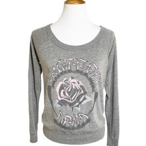 NWT Chaser Grateful Dead Rose Graphic Tee